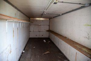 De opgeruimde container